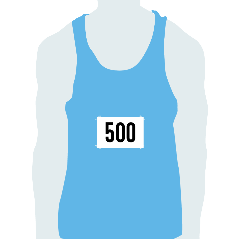 small running numbers