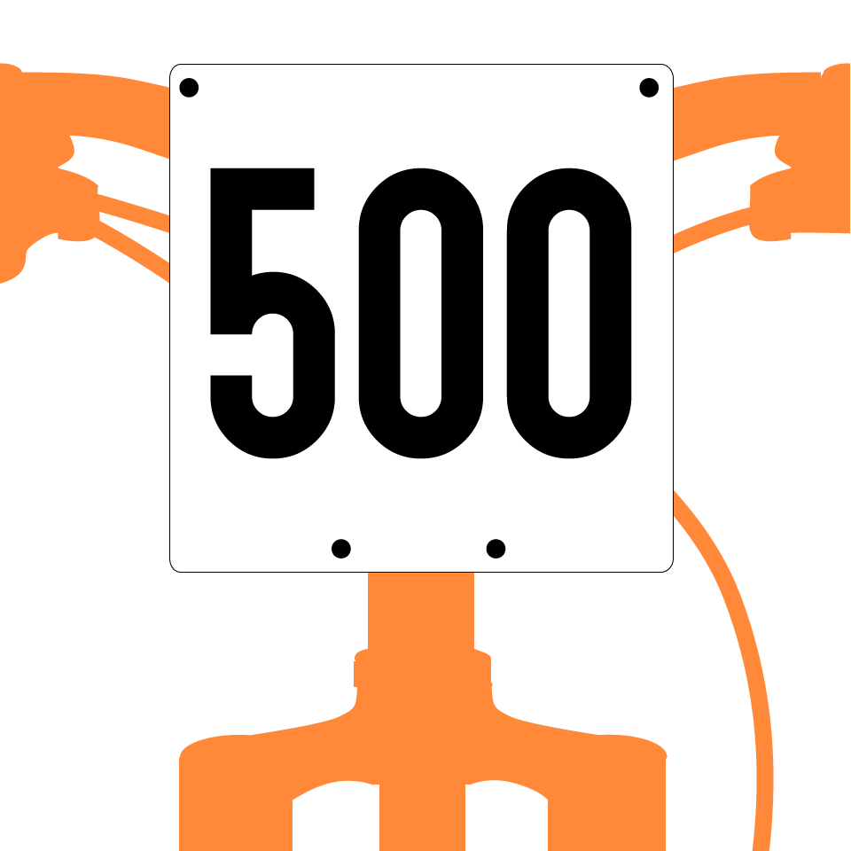 mountain bike numbers