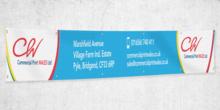 PVC BANNER 2m x 0.9m