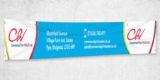 Digitally Printed Aero and PVC Banners