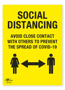 COVID-19 / Coronavirus Safety Signs