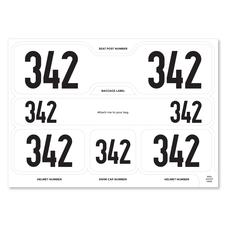 Triathlon stickers
