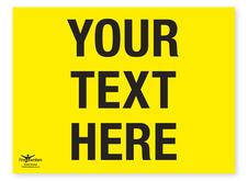 Custom message correx event signs