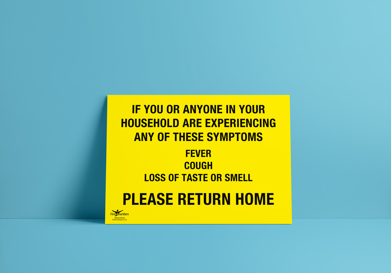 Covid-19 / Coronavirus Correx Safety Signage